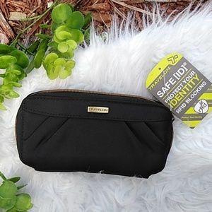 NWT Travelon black Wallet